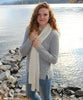 Honeycomb Knitted Scarf 100% Baby Alpaca-Scarves-Alpaca Direct-Alpaca Direct