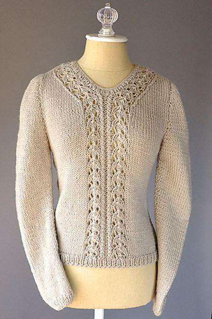 Interlacement Sweater by Universal Yarn Design Team-Patterns-Universal Yarns-Alpaca Direct