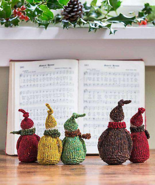 Jolly Wee Elf Pattern by Churchmouse Yarns and Teas