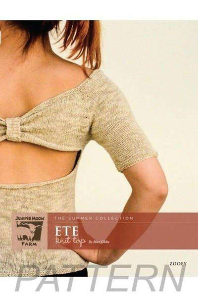 Juniper Moon Farm Zooey 'Ete' Knit Top PATTERN ONLY-Patterns-Juniper Moon Farm-Alpaca Direct