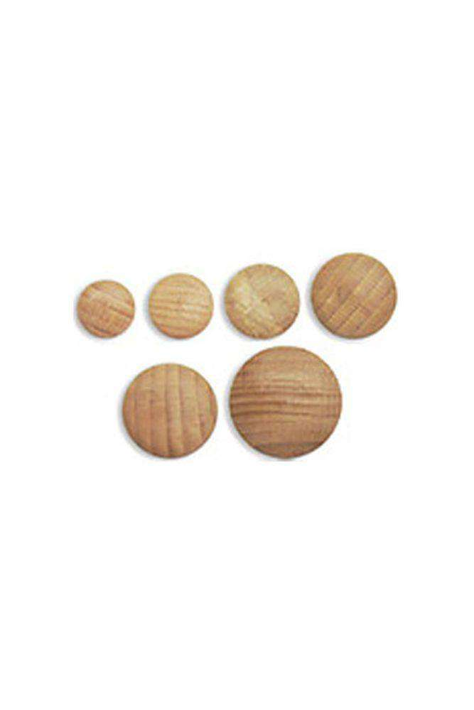 Kinki Amibari Wooden Button Base-Notions-Kinki Amibari-30mm-Alpaca Direct