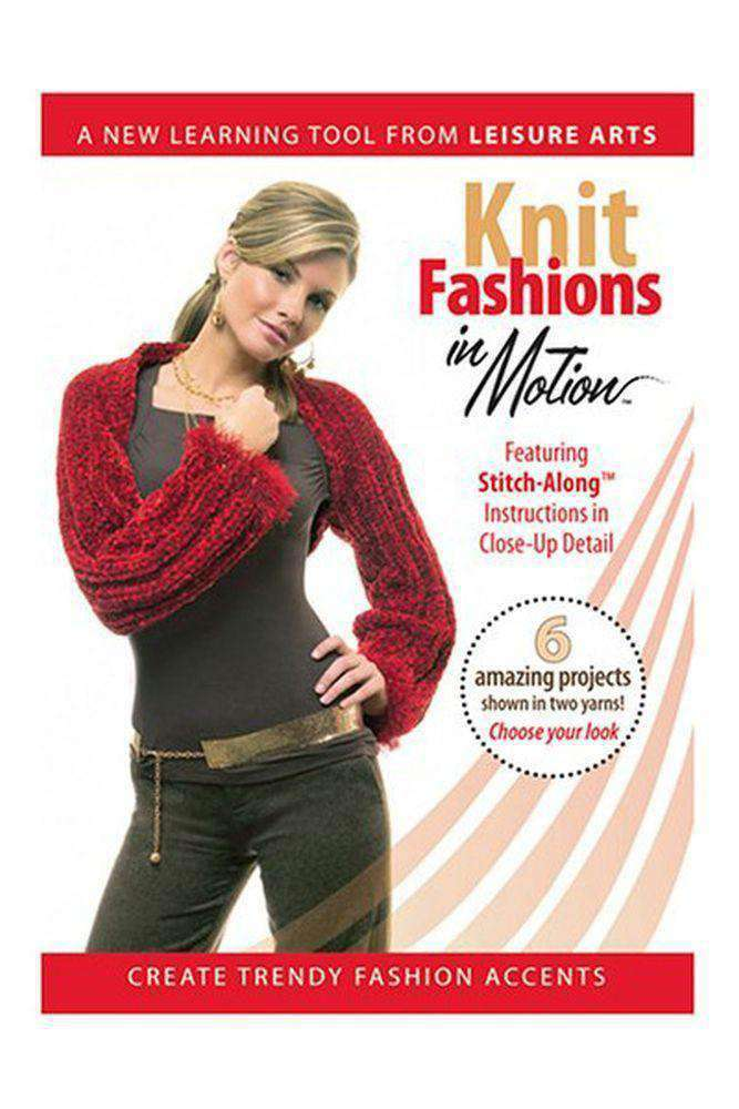 Knit Fashions in Motion DVD-DVD-Alpaca Direct-Alpaca Direct
