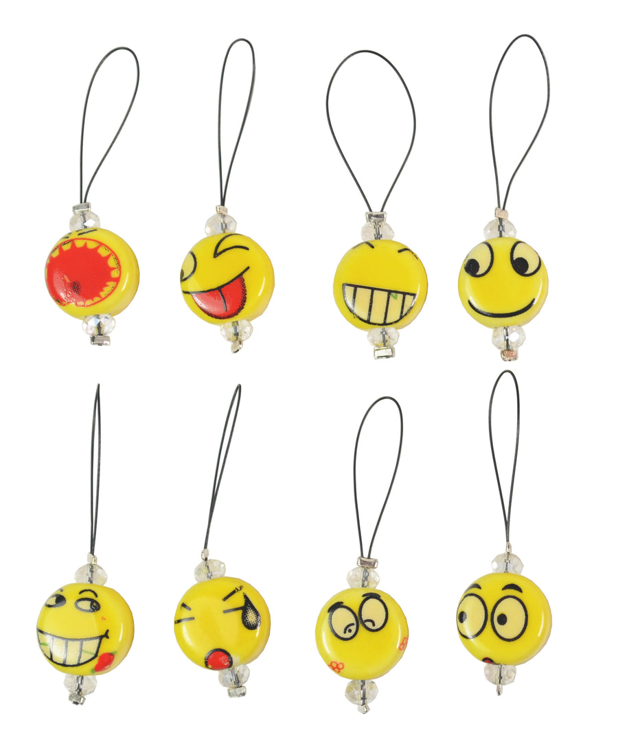Knitter's Pride Zooni Stitch Markers Smileys