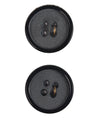 "La Mode Black 7/8"" (22MM) Buttons-Notions-Alpaca Direct-Alpaca Direct"