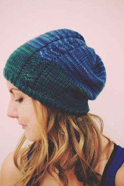 Mairead Slouchy Hat by Tara-Marie Phillips- Pattern-Patterns-Malabrigo Yarn-Mairead Slouchy Hat-Alpaca Direct