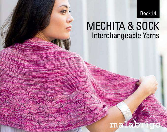 Malabrigo Book 14 Mechita and Sock Interchangeable Yarns-Books-Malabrigo Yarn-Alpaca Direct