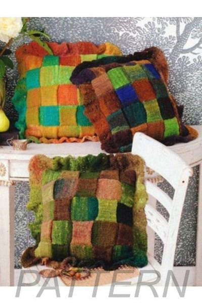 Noro 30 Woven Pillows PATTERN ONLY-Patterns-Noro-Alpaca Direct