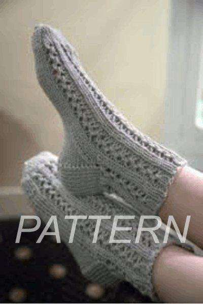 893158b380672 Plymouth Lace Socks and Cable Socks- Pattern