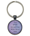 The Hook Is Strong With This One Keychain-Notions-Alpaca Direct-Purple-Alpaca Direct