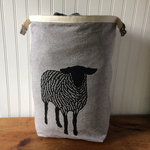 Large Sheep Trundle Bag