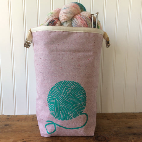 Yarn Trundle Bag - Pink