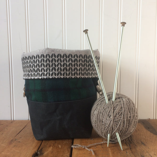Mini Wax and Wool Trundle Bag - Limited Edition