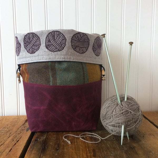 Wax and Wool Trundle Bag - Limited Edition