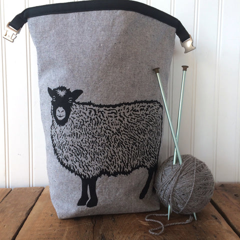 Shetland Sheep Trundle Bag