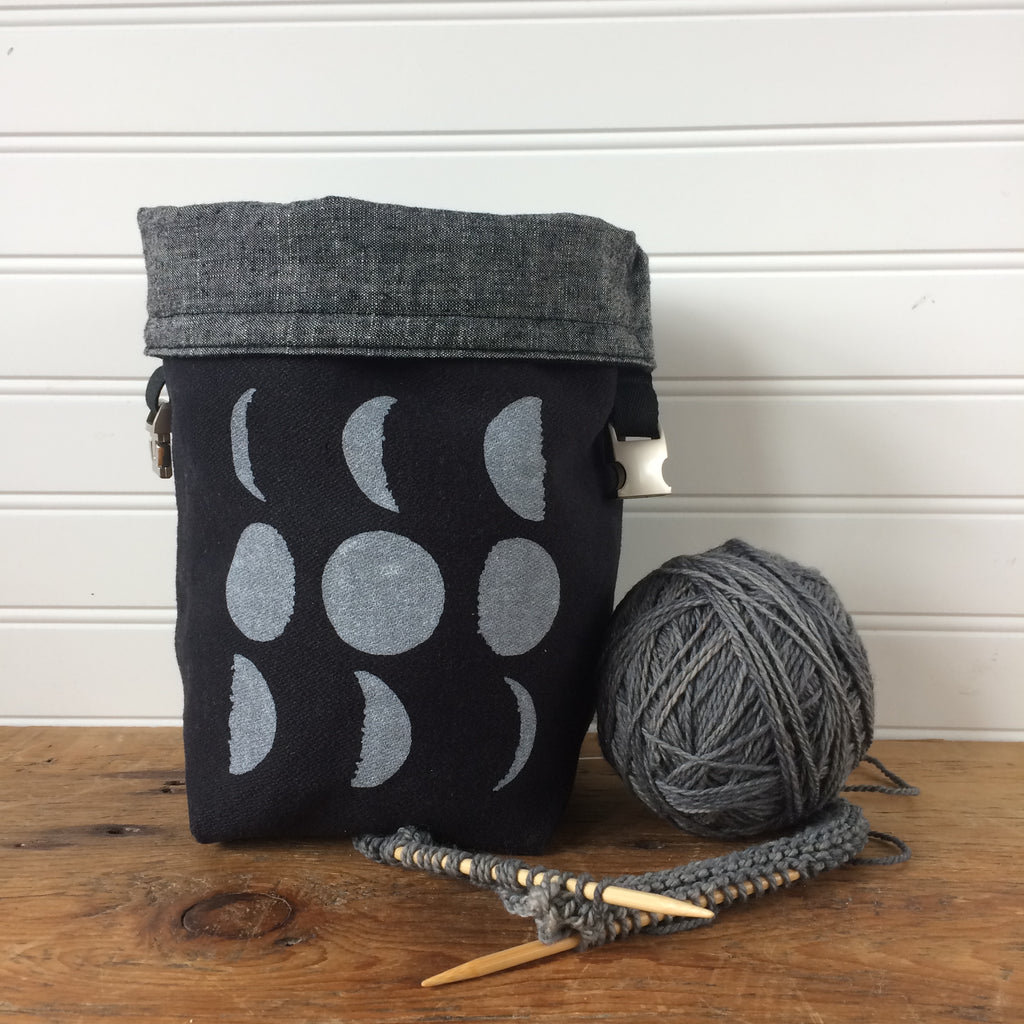 Black Moon Mini Trundle Bag