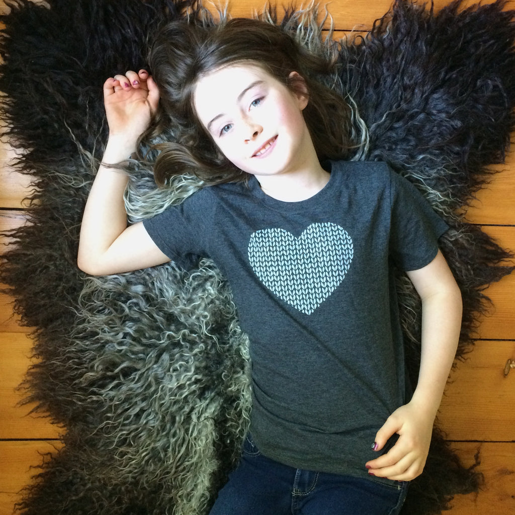 Kids Love in Every Stitch Tee Shirt
