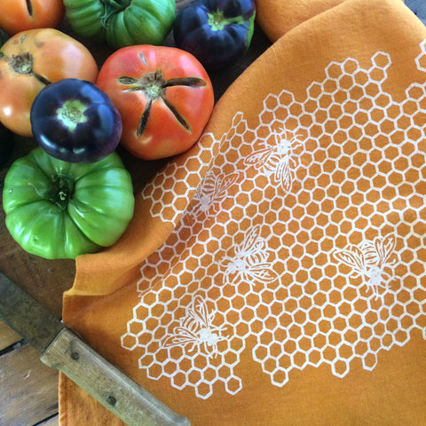 Honeycomb Tea Towel