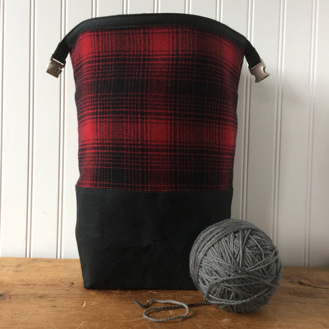 Wax and Wool Trundle Bag