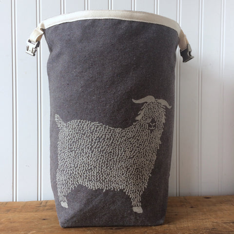 Angora Goat Trundle Bag