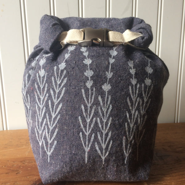 Lavender Mini Trundle Bag