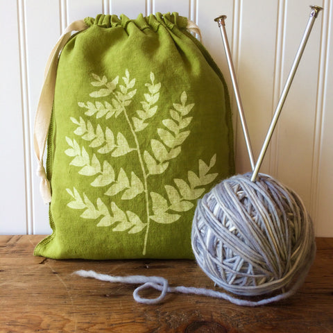 Fern Drawstring Bag