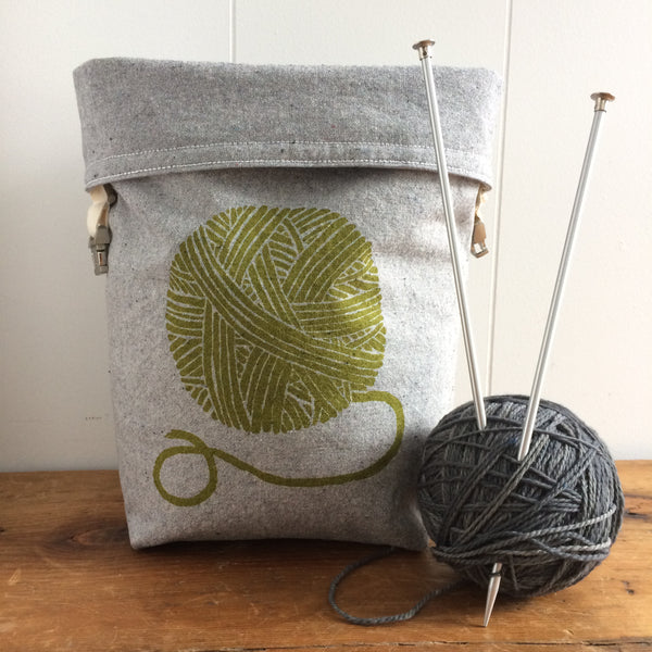 Yarn Ball Trundle Bag