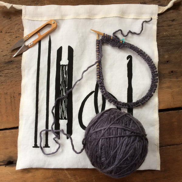 Maker's Tools Drawstring Bag - Medium