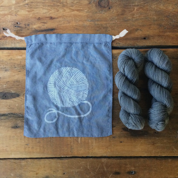 Yarn Ball Drawstring Bag - Medium