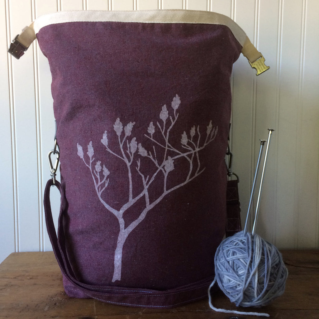 Deluxe Trundle Bag- Sumac (Burgundy)