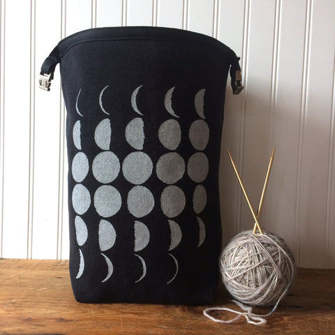 Black Moon Trundle Bag