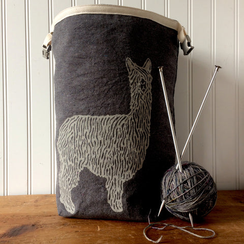 Alpaca Trundle Bag