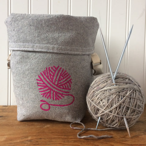 Yarn Ball Mini Trundle Bag