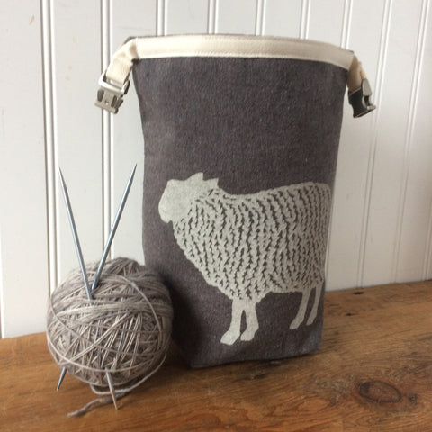 Sheep Mini Trundle Bag