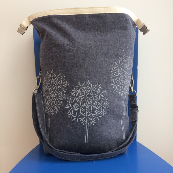 Deluxe Trundle Bag- Blue Allium