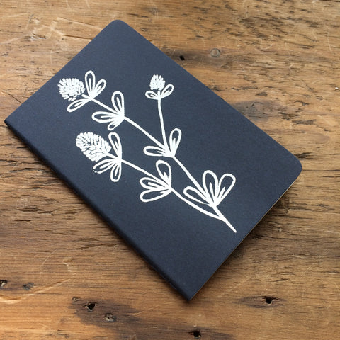 Hand Printed Mini Moleskine Sketchbook