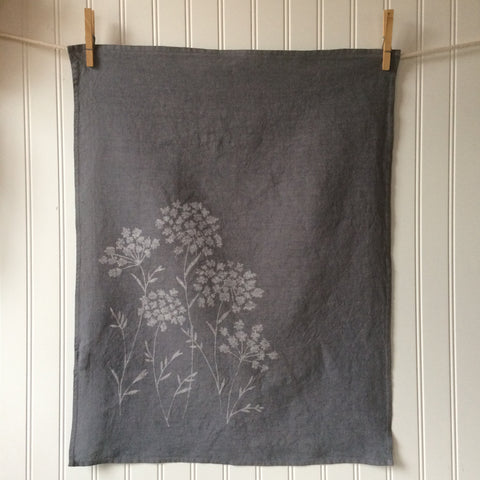 Queen Anne's Lace Tea Towel