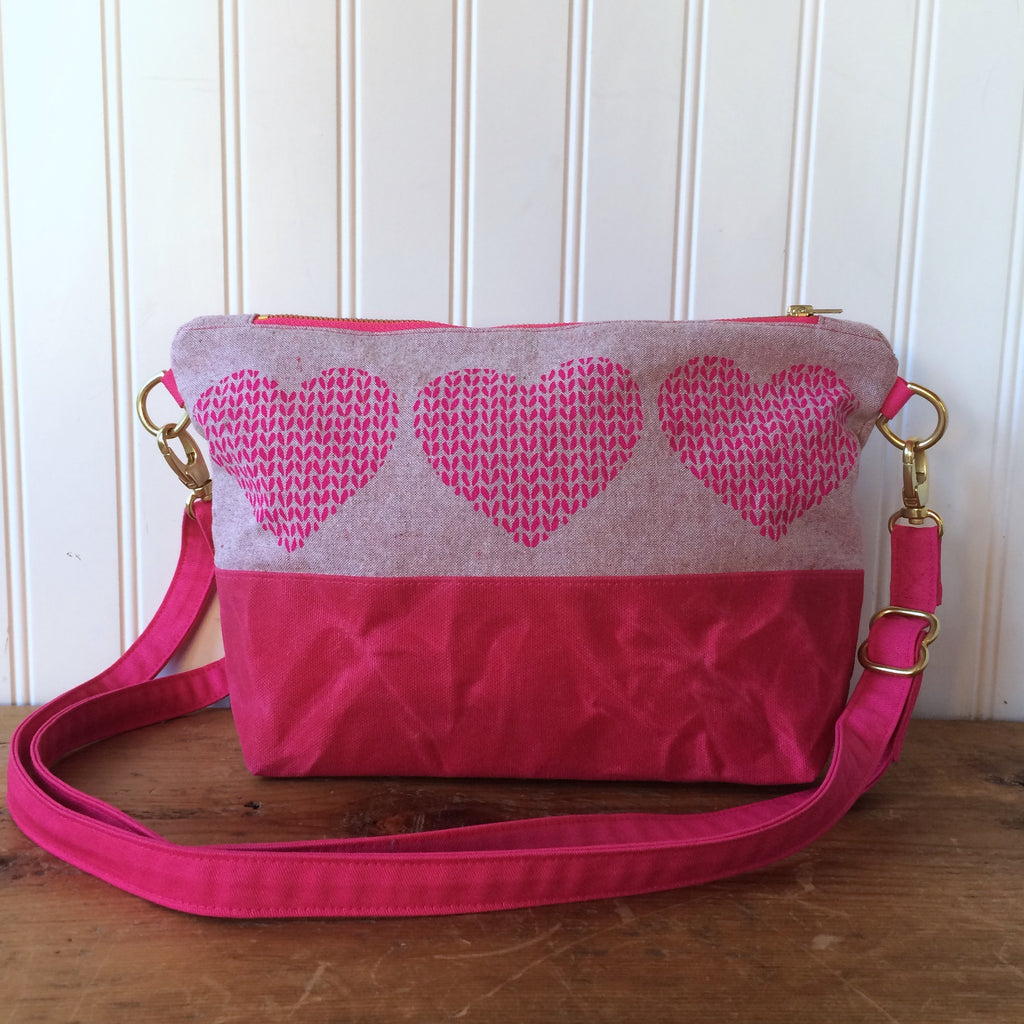 Notions pouch- Love in Every Stitch cross-body