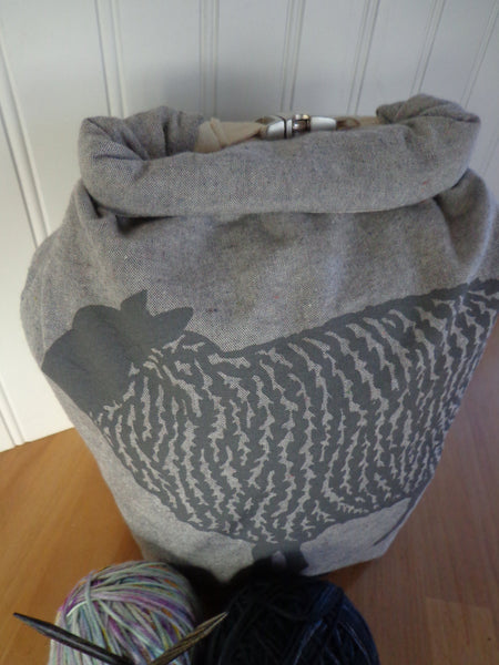 Sheep Trundle Bag