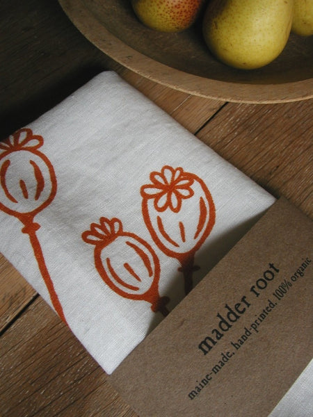 Poppies Tea Towel