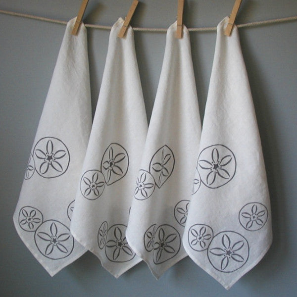 Sand Dollar Dinner Napkins