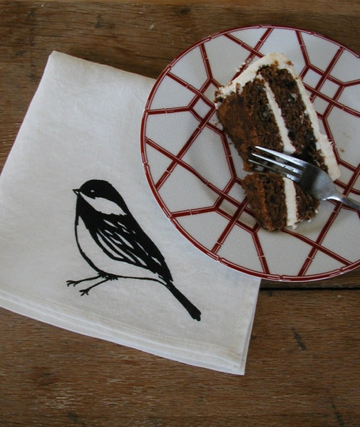 Chickadee Dinner Napkins