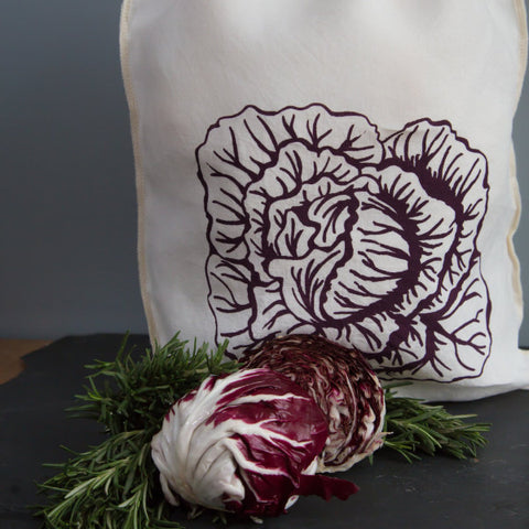 Cabbage Drawstring Bag- Large