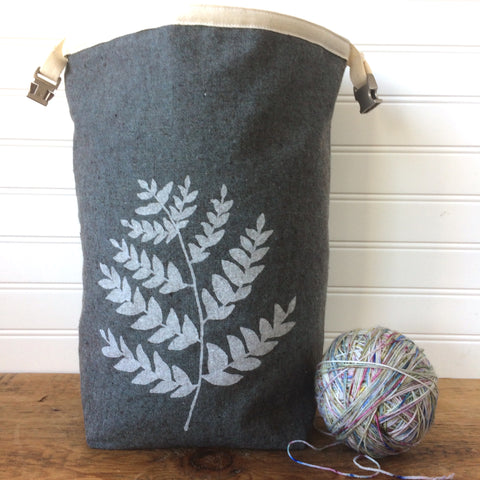 Fern Trundle Bag-Dark Green