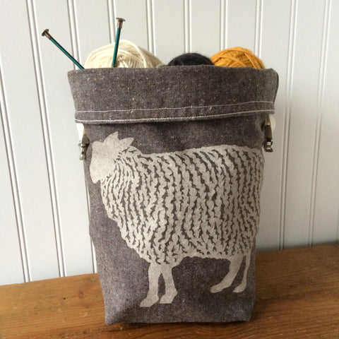 Brown Sheep Trundle Bag