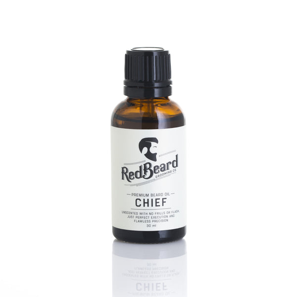 Beard Oil - Chief - Redbeard Grooming Co. - 1