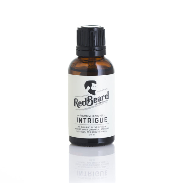 Beard Oil - Intrigue - Redbeard Grooming Co. - 1