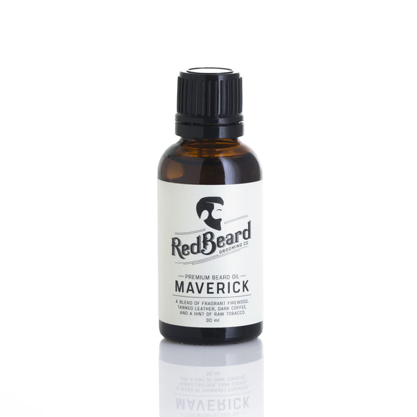 Beard Oil - Maverick - Redbeard Grooming Co. - 1