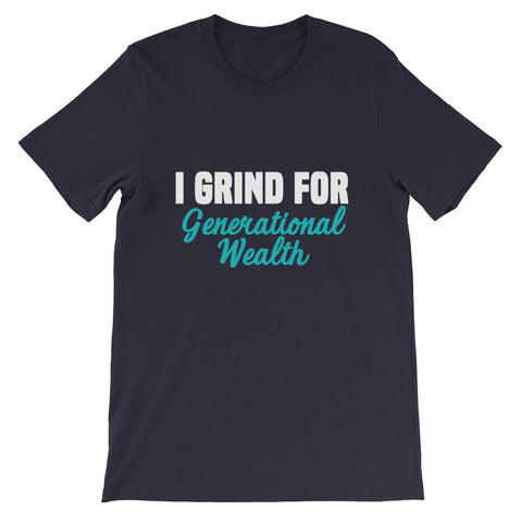 Generational Grind Short-Sleeve Unisex T-Shirt