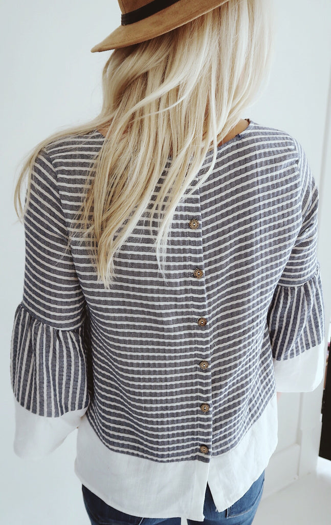 Bixby Striped Top
