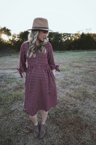 Norman Plaid Dress